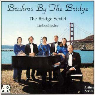 Brahms By The Bridge, CD by The Angelo Piano Duo